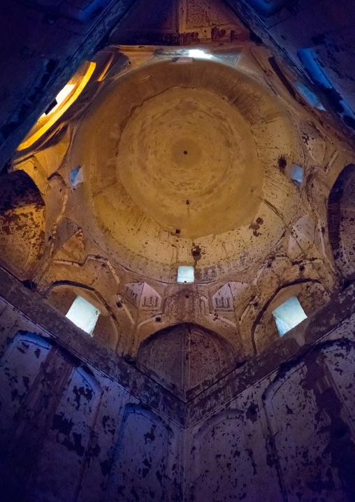Inside 15Th-century Domed Ziai Ye School (Alexander Prison), Yazd Province, Yazd, Iran