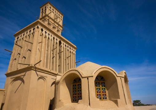 Aghazadeh Mansion Wind Towers Used As A Natural Cooling System In Iranian Traditional Architecture, Fars Province, Abarkooh, Iran