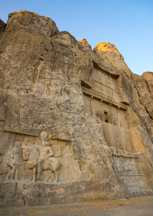 Achaemenian Royal Tombs In Naqsh-e Rustam Necropolis, Fars Province, Shiraz, Iran