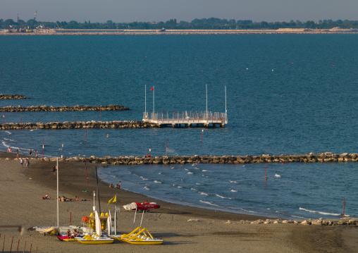 Lido di Venezia beach, Veneto Region, Venice, Italy