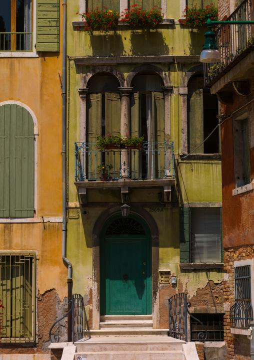 Venetian decayed facades, Veneto Region, Venice, Italy