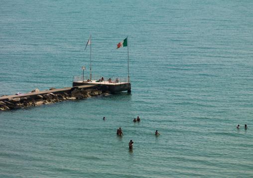 Lido di Venezia jetty, Veneto Region, Venice, Italy