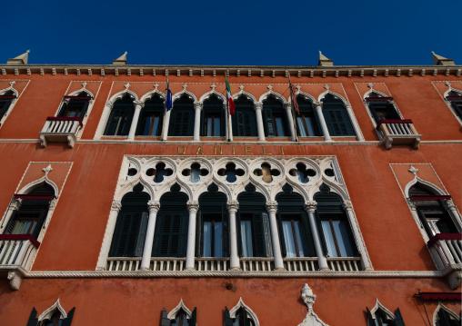 Danieli hotel facade, Veneto, Venice, Italia