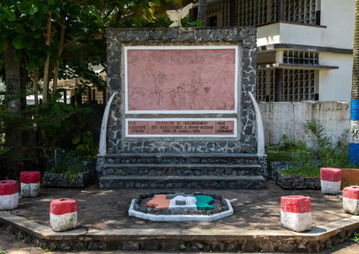 Memorial for the arrival of the first missionaries in town, Sud-Comoé, Grand-Bassam, Ivory Coast