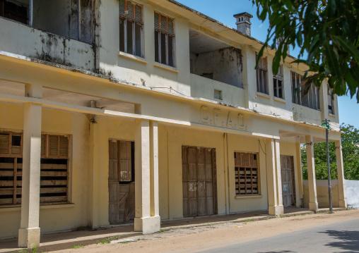 The first CFOA shop in town, Sud-Comoé, Grand-Bassam, Ivory Coast
