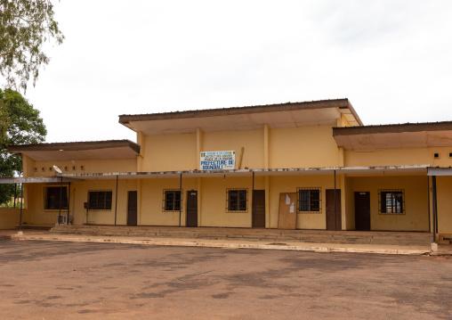 Prefecture building, Savanes district, Boundiali, Ivory Coast
