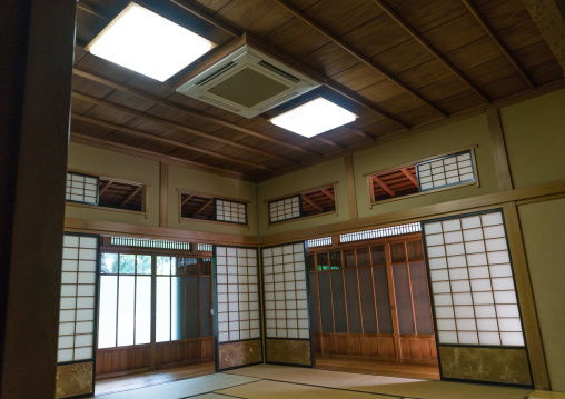 Room in kyu asakura traditional japanese house from taisho era, Kanto region, Tokyo, Japan