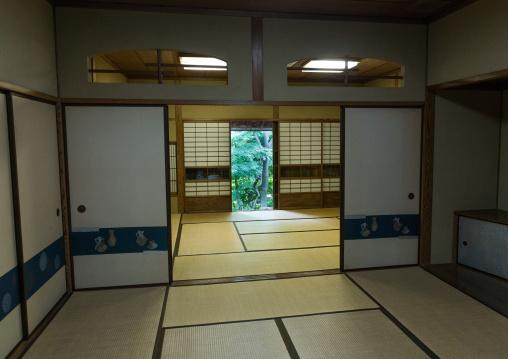 Room in the kyu asakura traditional japanese house from taisho era, Kanto region, Tokyo, Japan