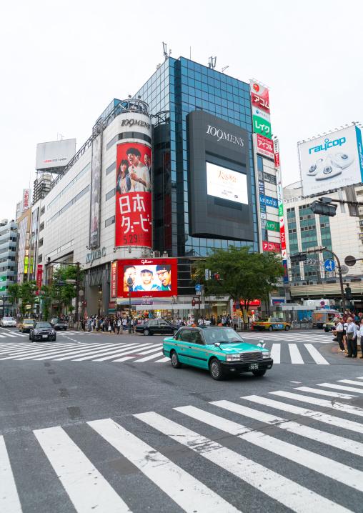 Shibuya crossing, Kanto region, Tokyo, Japan