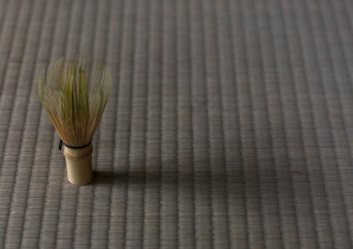 Tea whisk fot tea ceremony in daitoku-ji, Kansai region, Kyoto, Japan