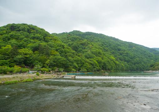 Hozu river, Kansai region, Arashiyama, Japan