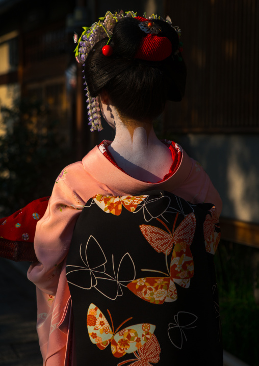 16 Years old maiko called chikasaya, Kansai region, Kyoto, Japan