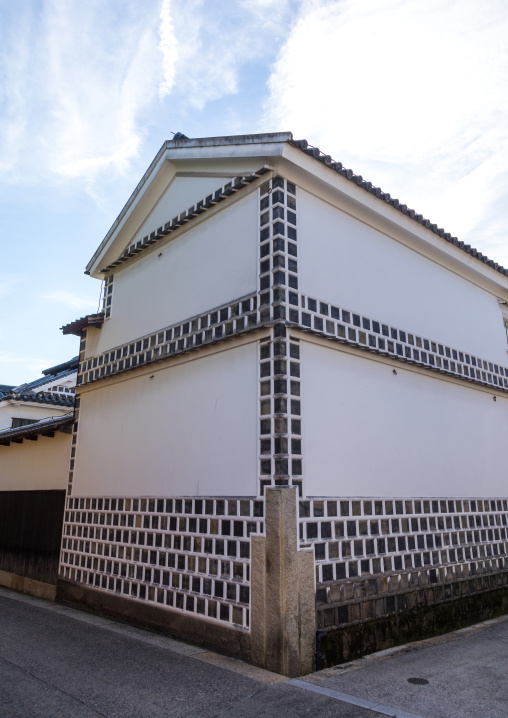 Old house in Bikan historical quarter, Okayama Prefecture, Kurashiki, Japan