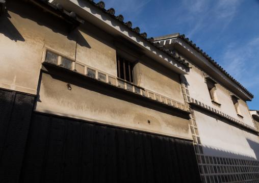 Old house in Bikan historical quarter, Okayama Prefecture, Kurashiki, Japan