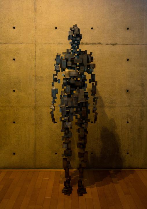 Sculpture in Benesse house, Seto Inland Sea, Naoshima, Japan