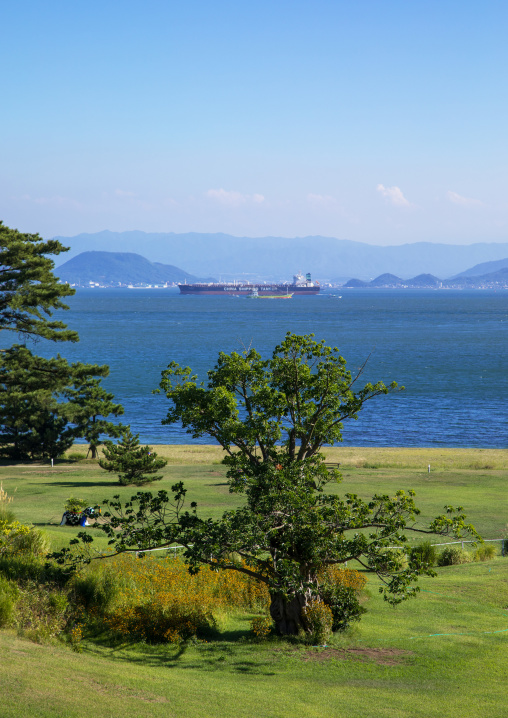 Benesse house garden, Seto Inland Sea, Naoshima, Japan