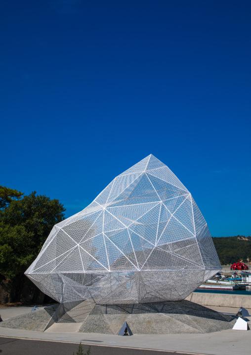 Naoshima pavilion by Sou Fujimoto, Seto Inland Sea, Naoshima, Japan