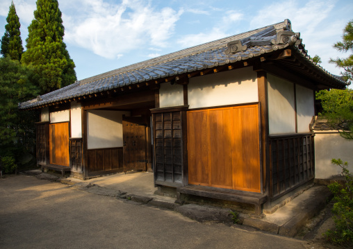 Gate in Kokoen garden, Hypgo Prefecture, Himeji, Japan