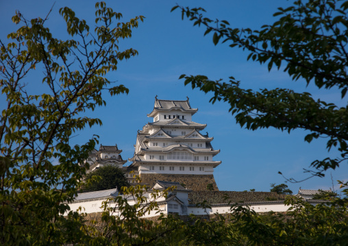 Unesco world heritage site Himeji castle, Hypgo Prefecture, Himeji, Japan