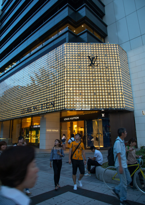 Louis vuitton store, Kansai region, Osaka, Japan