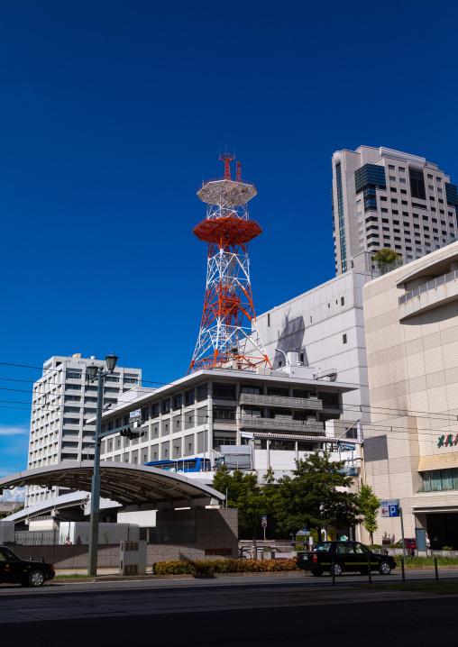 Television tower, Chugoku region, Hiroshima, Japan