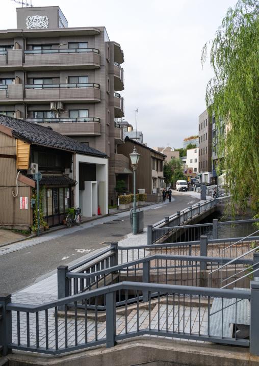 Hirosaka street, Ishikawa Prefecture, Kanazawa, Japan