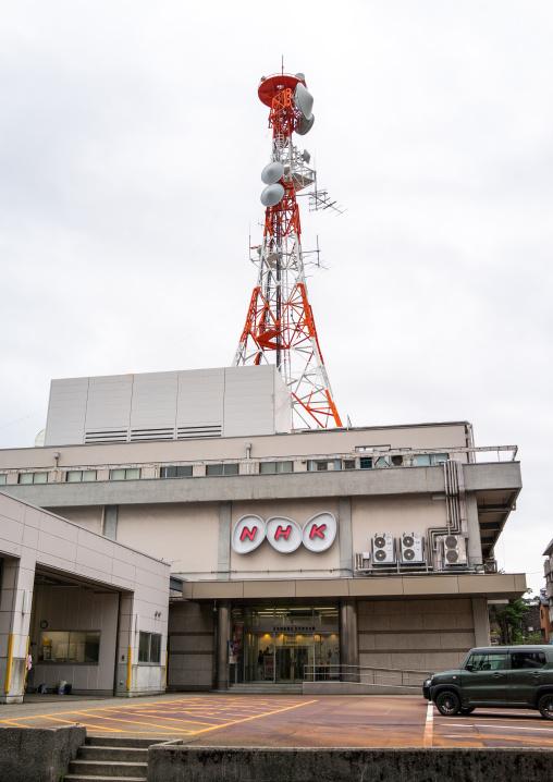 NHK television tower, Ishikawa Prefecture, Kanazawa, Japan