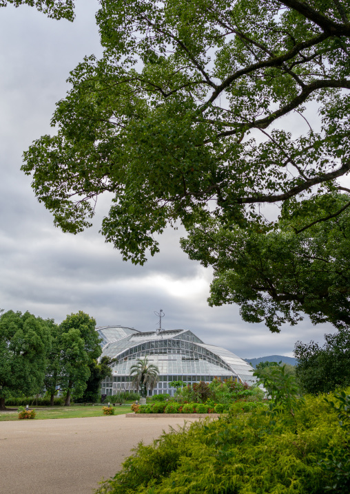 The Kyoto botanical garden greenhouse, Kansai region, Kyoto, Japan