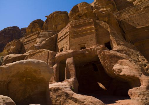 Tombs In The Street Of Facades, Petra, Jordan
