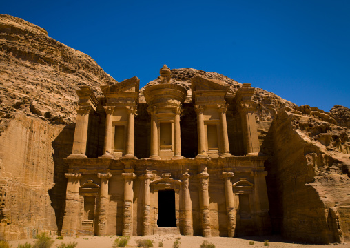Temple Of Al Deir, The Monastery, Petra, Jordan