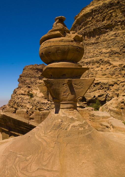 Rooftop Of Temple Of Al Deir, The Monastery, Petra, Jordan