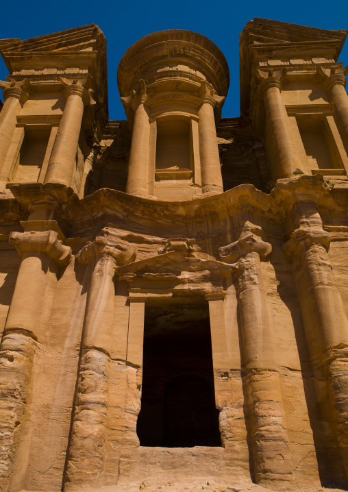 Temple Of Al Deir, The Monastery, Petra, Jordan