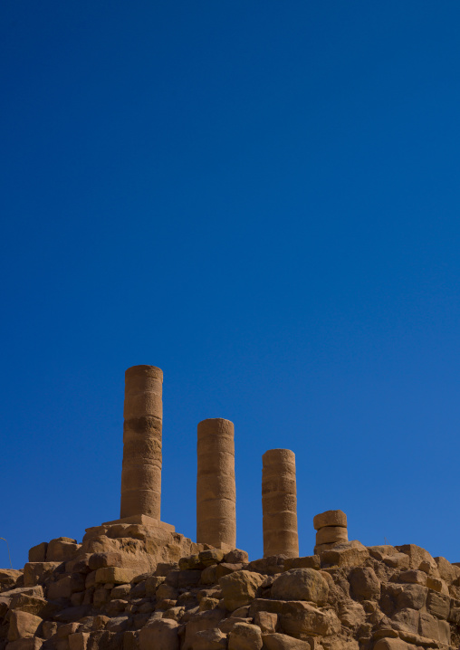 Colums In Petra, Jordan