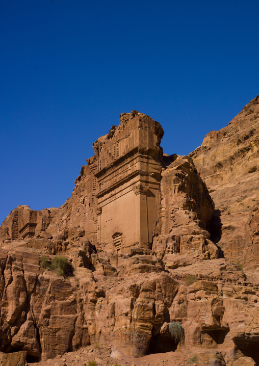 Tomb In Petra, Jordan