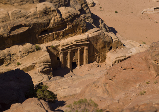Elevated View Of Petra, Jordan