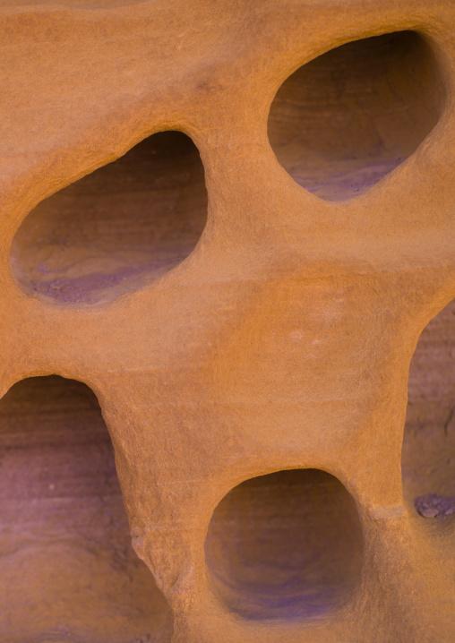 Holes In Rock, Petra, Jordan