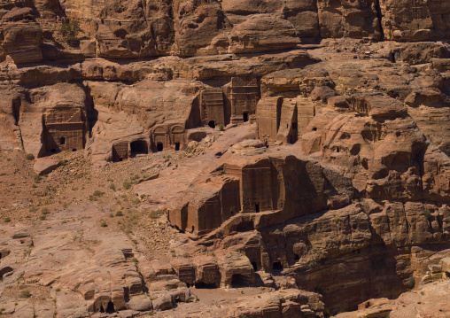 Valley Of The Tombs, Petra, Jordan