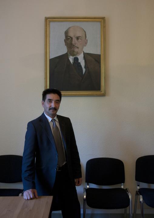 Mister Zhambyl Member Of The Communist Party, Astana, Kazakhstan