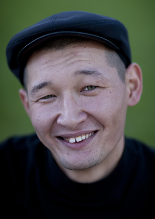 Ethnic Kazakh Man, Astana, Kazakhstan