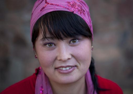 Miss Zharkymai, Ethnic Kazakh Young Woman, Astana, Kazakhstan