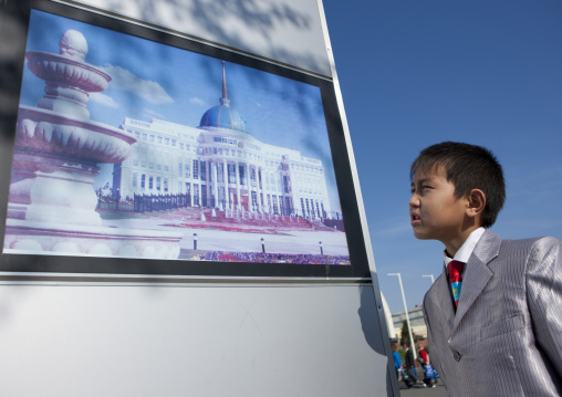 Dida, A Kid In Astana, Kazakhstan