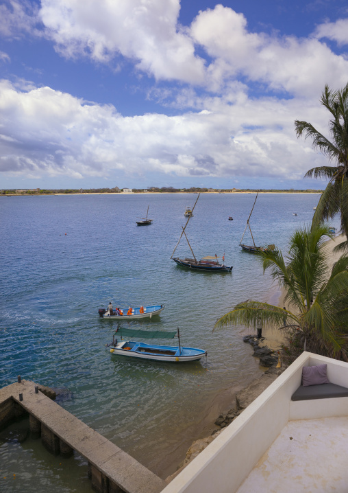 Sea view from forodhani house, Lamu county, Shela, Kenya