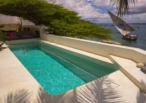 Forodhani house pool, Lamu county, Shela, Kenya