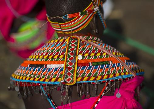 Rendille tribeswoman, Turkana lake, Loiyangalani, Kenya