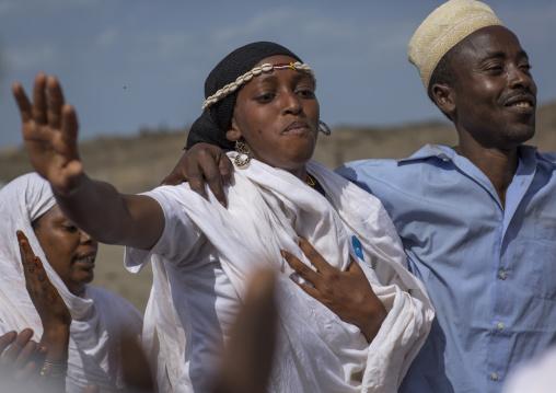 Borana tribe dance, Turkana lake, Loiyangalani, Kenya