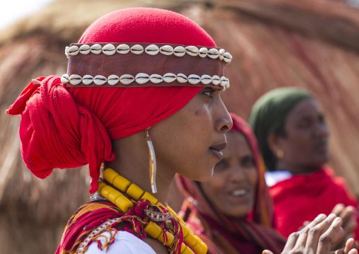 Somali tribe women, Turkana lake, Loiyangalani, Kenya