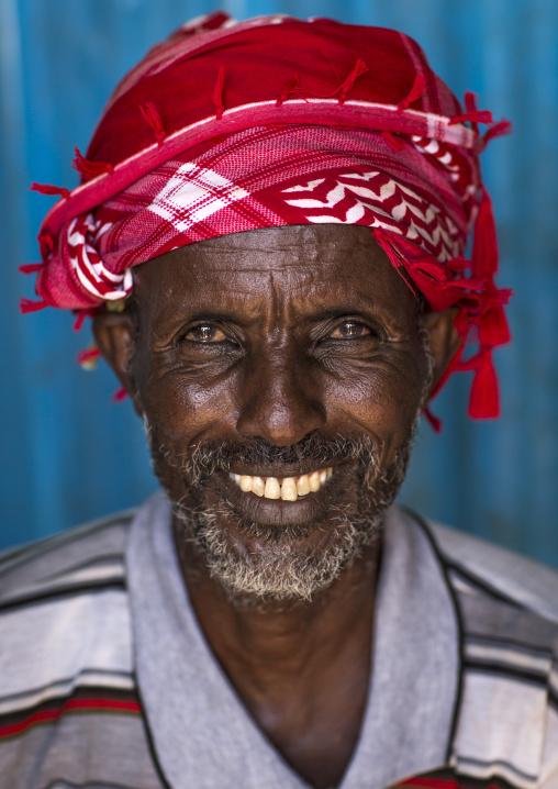 Gabbra tribe man, Chalbi desert, Kalacha, Kenya