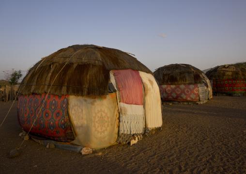 Gabbra tribe house, Chalbi desert, Kalacha, Kenya