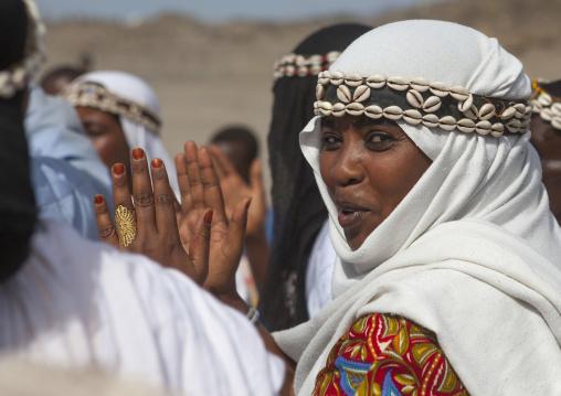 Gabbra tribe women, Turkana lake, Loiyangalani, Kenya