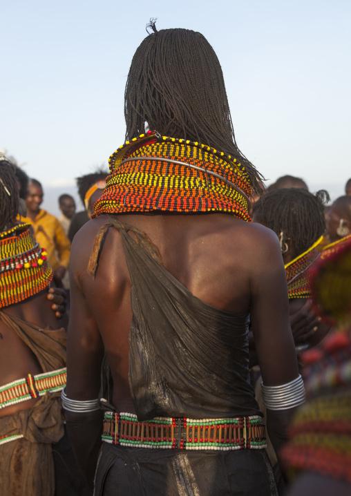 Turkana tribe woman, Turkana lake, Loiyangalani, Kenya